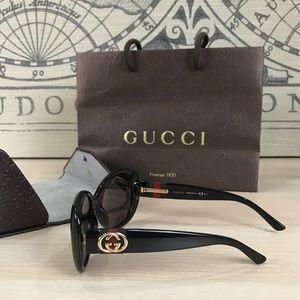 Gucci Black Optical Sunglasses